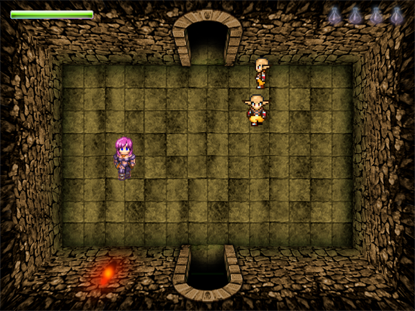 Dungeon of Despair demo game screenshot