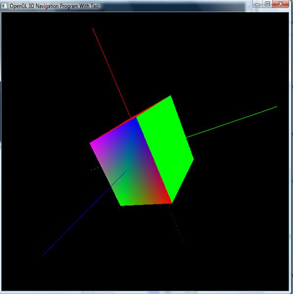 Drawing Lines With Mouse Opengl : Opengl d navigation with tao and c