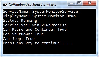SysMonService paused in the Event Viewer