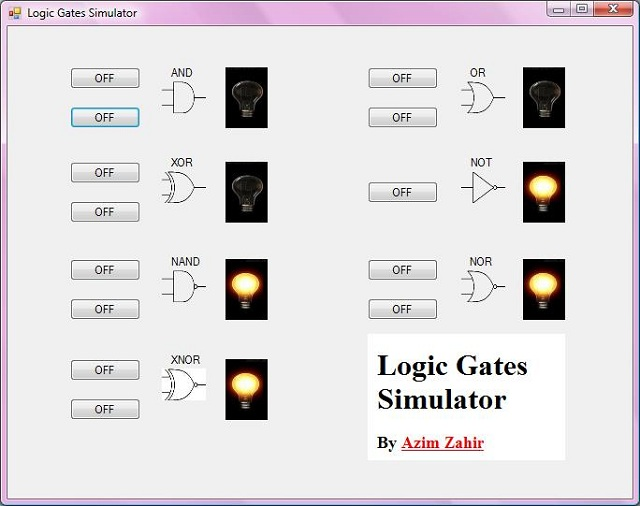 Applications of logic gates in control systems -