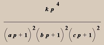 Regression formula
