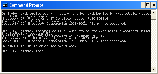 The command-line in Windows XP