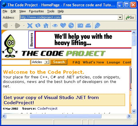 how to make a tabbed webbrowser in visual basic