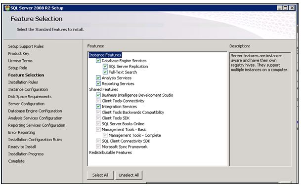 how to get version number of sql install