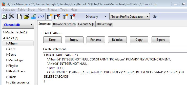 how to add new table to existing database code first