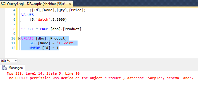 how to delete particular row in sql