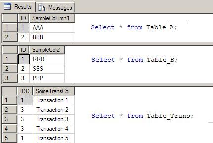 Sql left join three tables example - Sql join tables from different databases ...