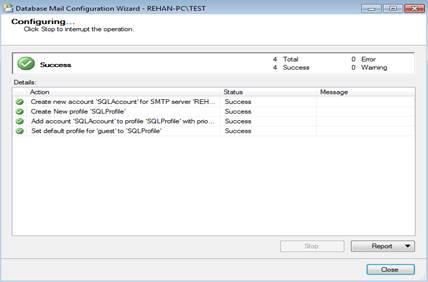 how to close microsoft database daemon