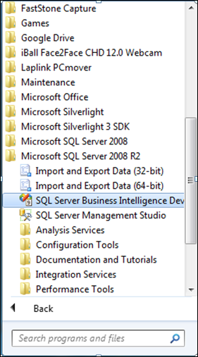 bids for sql server management studio