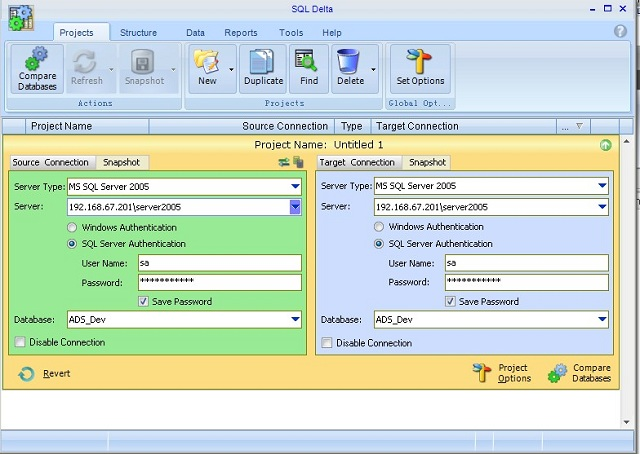 Softs database compare redgate sql compare these are the