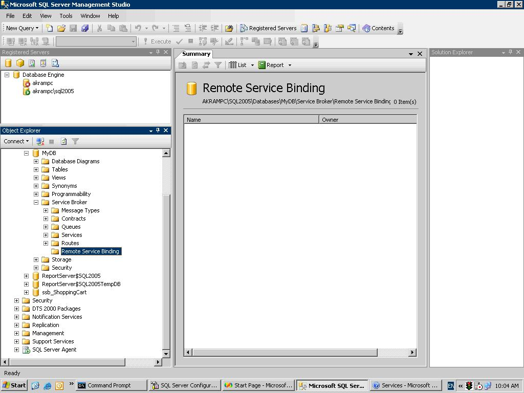 Service broker how to