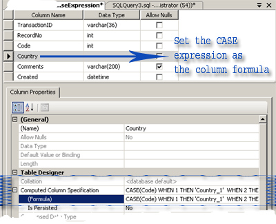 Oracle case when in sql