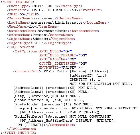 Write a trigger in sql server 2005