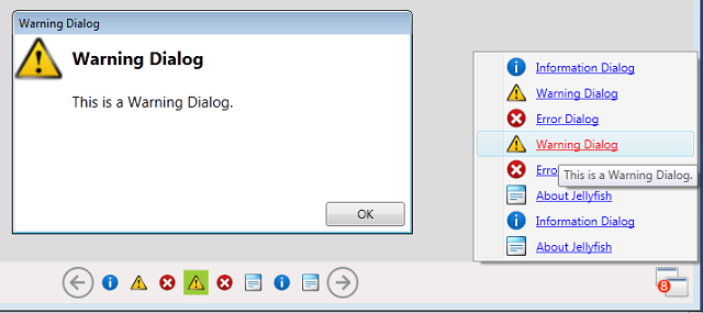 Warning Dialogbox