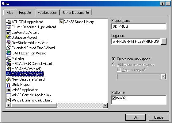 Creating your first windows application codeproject for 1st window