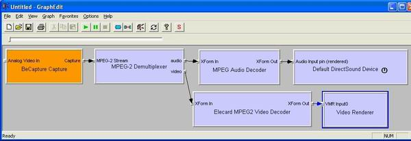 mpeg2 capture graph