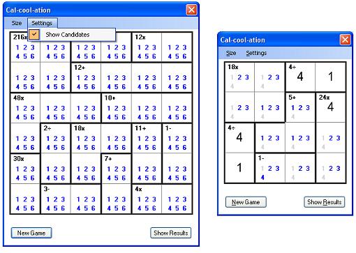 matematik ile ilgili bulmacalar. Calcoolation: A Math Puzzle
