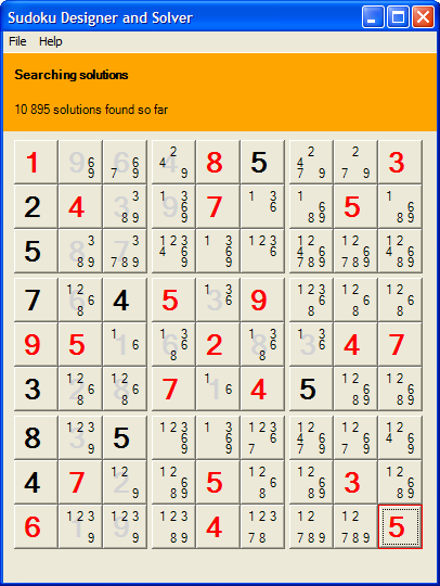another sudoku solver and generator