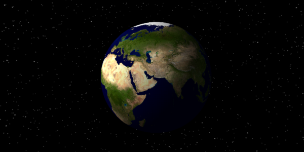 A simple Earth model - Created using X3DML