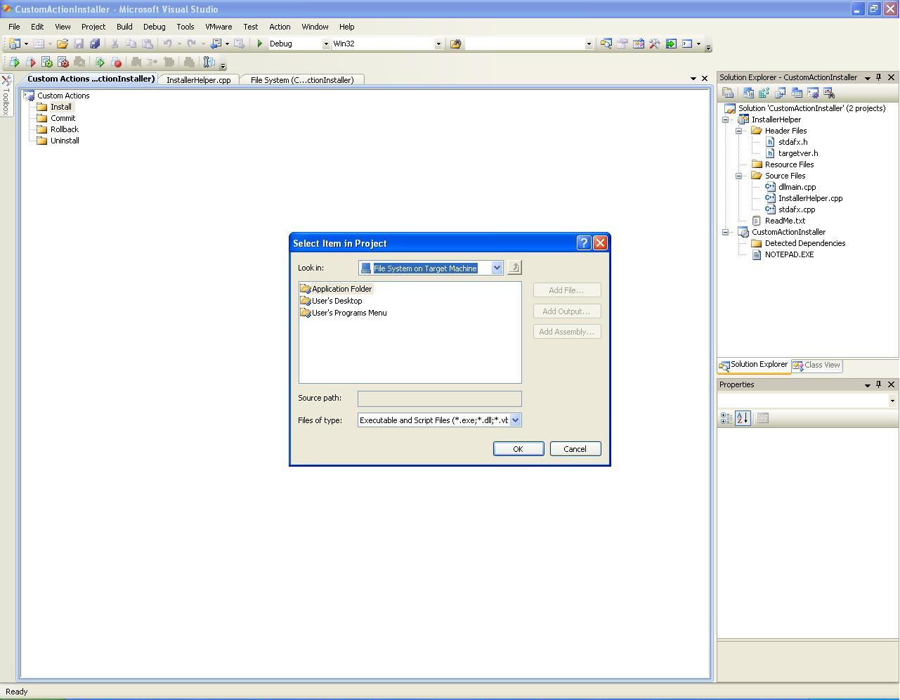 how to read dll files in visual studio