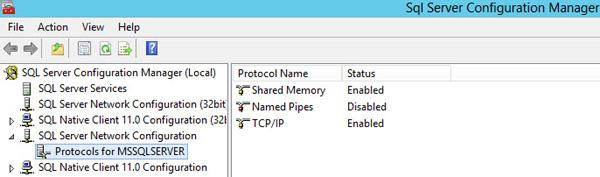 SQL Server 2012 Configuration Manager