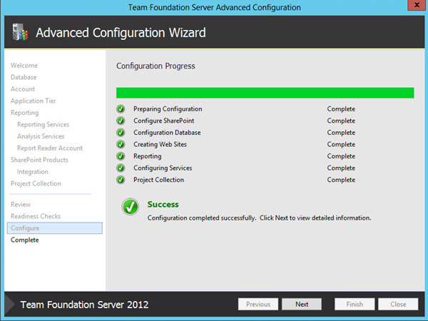 Team Foundation Server 2012 Advanced Configuration