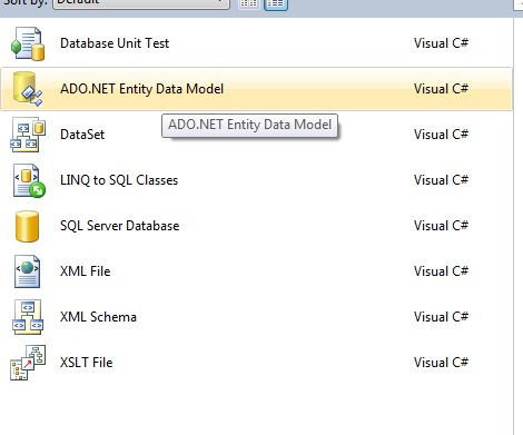 Entity framework article image