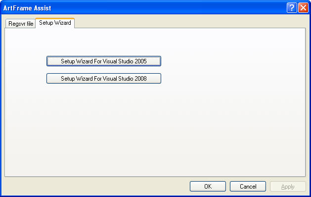 mfc application wizard in vc++