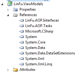 Aspect examples inotifypropertychanged via aspects codeproject