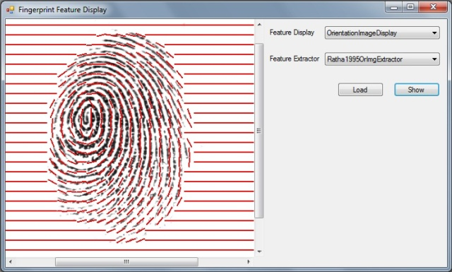 Some examples of fingerprint images in our database. (a) are.