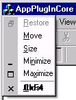 System menu when made ownerdrawn