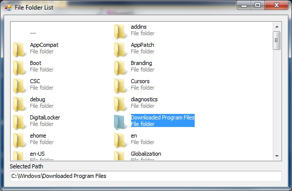File folder new file c file listoffiles folder listfiles pictures to