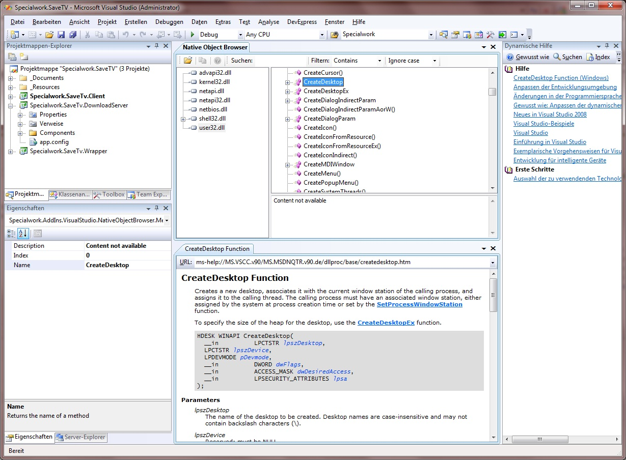 Native_Browser_Addin_for_Visual_Studio