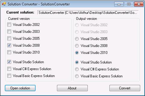 Vs2010 To Vs2008 Converter
