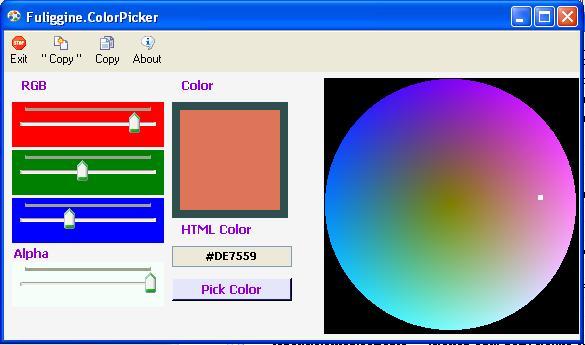 rgb color picker gold