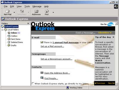 Microsoft« Outlook Express«