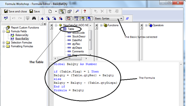 Crystal Reports: Using SQL Expression Fields