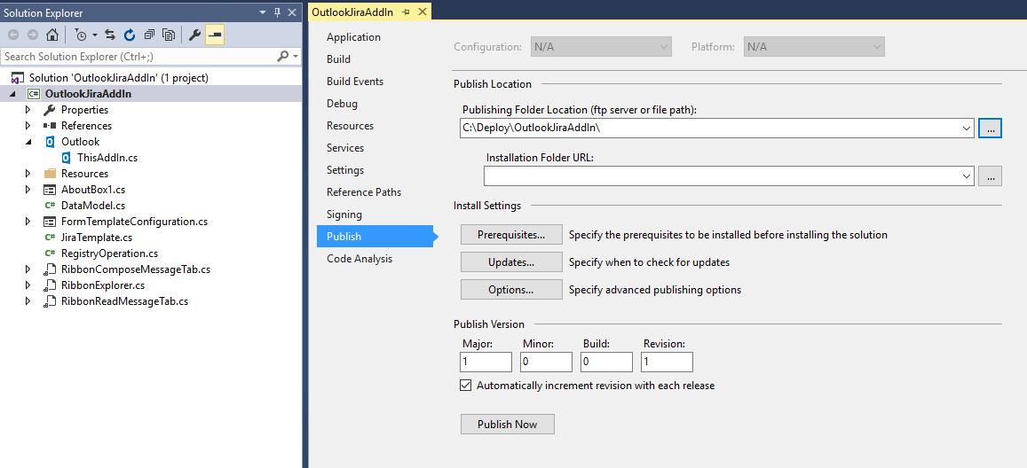 OutlookJiraAddIn: Yet Another Jira Outlook Plugin  - CodeProject