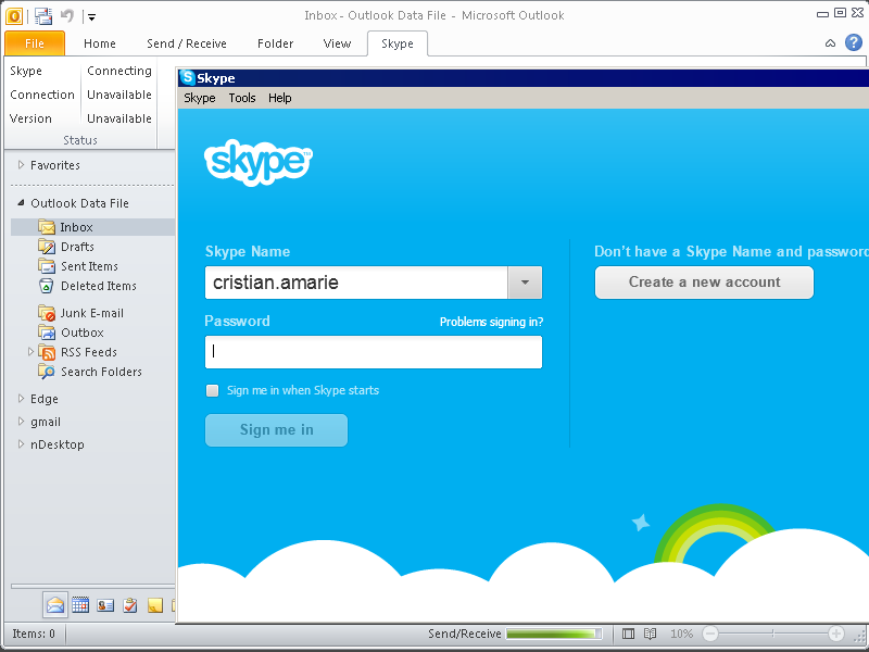 Skype Outlook - фото 7