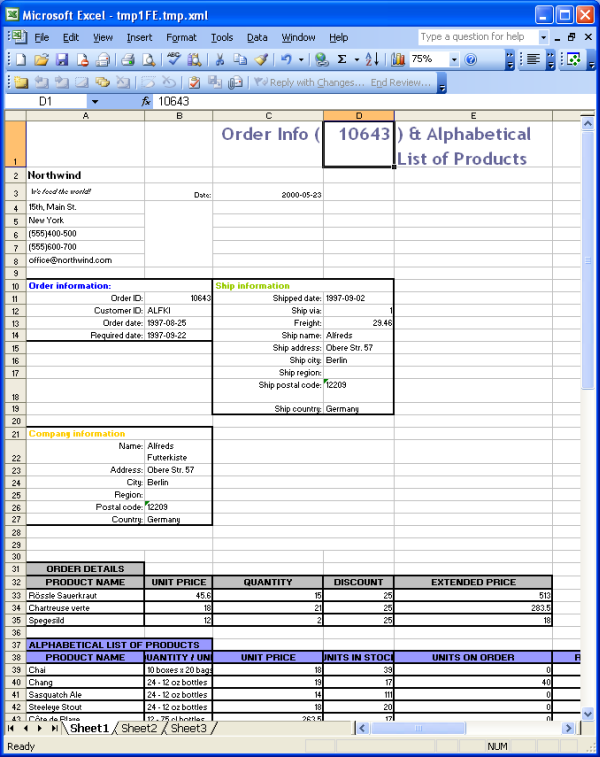 Microsoft Office 2003 Excel Templates - mandegar.info