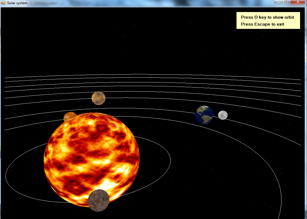 solar system of 3 d - photo #6