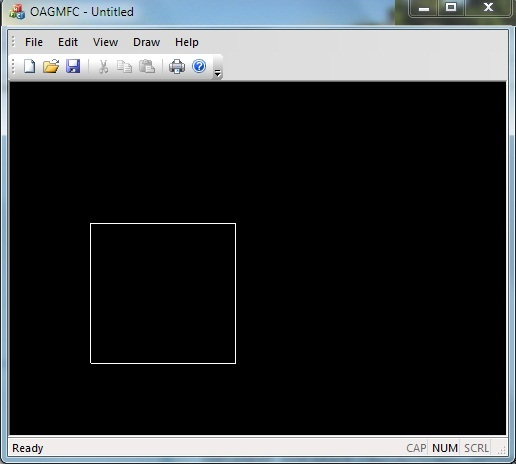 how to draw a rectangle in opengl