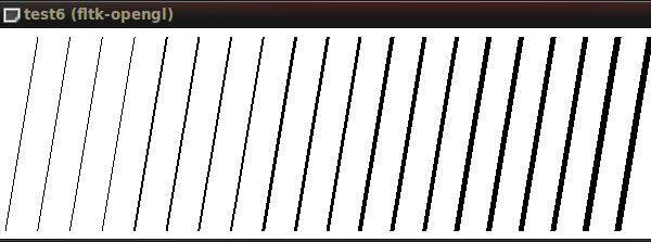 Drawing Lines With Opengl : Drawing nearly perfect d line segments in opengl