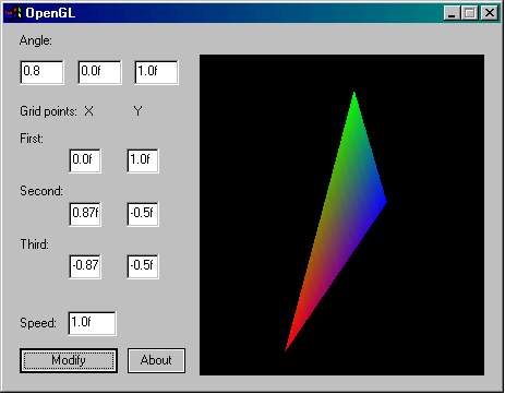 Basic triangle movement in opengl beginner introduction to opengl