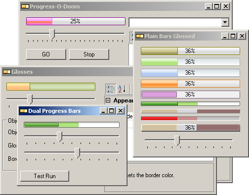 Progress Bar Activex - Visual Basic Vb6 , Vba Progress Bar Activex.