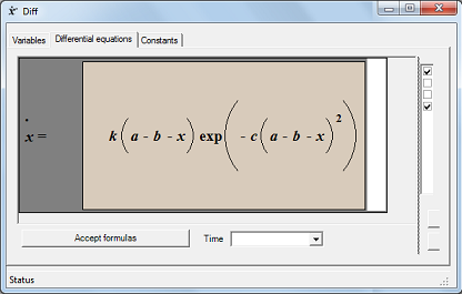 Differential equation properties