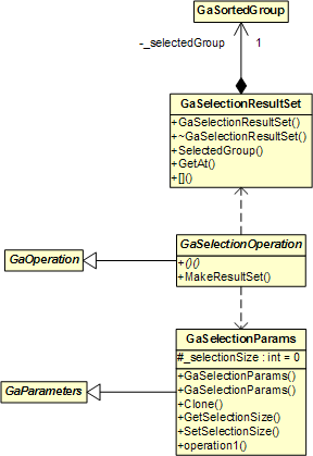 Selection Operation Interface