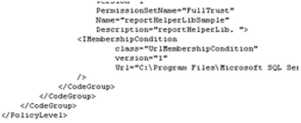 How to write custom code in ssrs 2008
