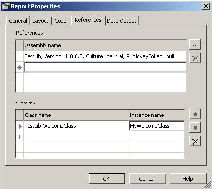 adding custom code to reporting services reporting services has techniques for developing reports that can have their own code and also can access code