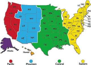 Initial Time Zones